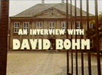 Post image for Translations of an Interview with David Bohm